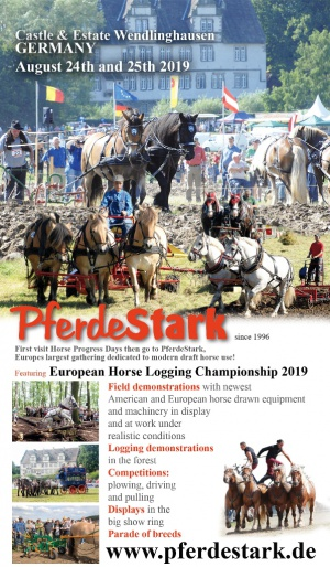 Field and logging demonstrations at PferdeStark19