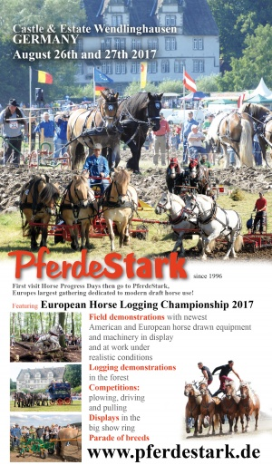 Field and logging demonstrations at PferdeStark13
